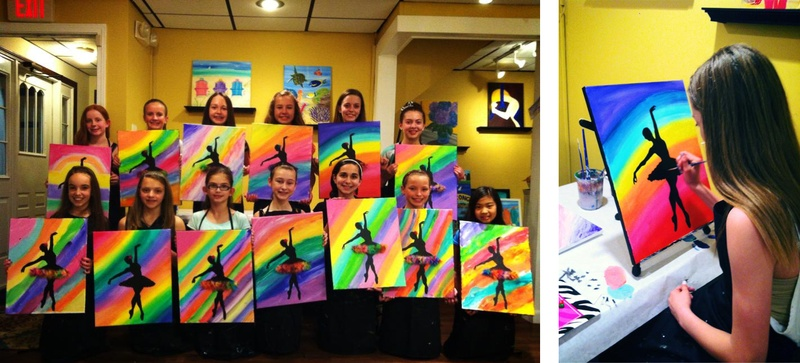 About Brush Strokes Kids Open Studio Classes